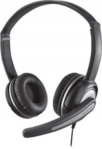 Insignia - On-Ear Stereo Headset - Black