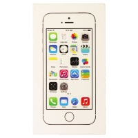 RETAIL BOX - Apple iPhone 5s - 32GB Silver - NO DEVICE