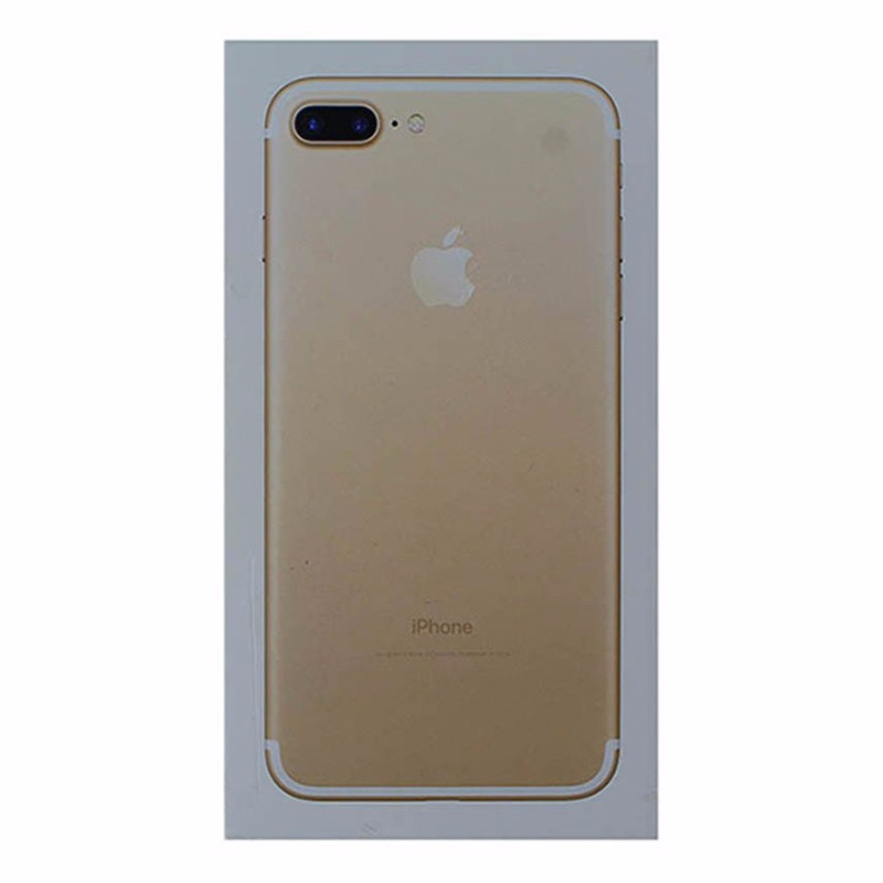 RETAIL BOX - Apple iPhone 7 Plus - 128GB Gold - Tray Included - NO DEVICE