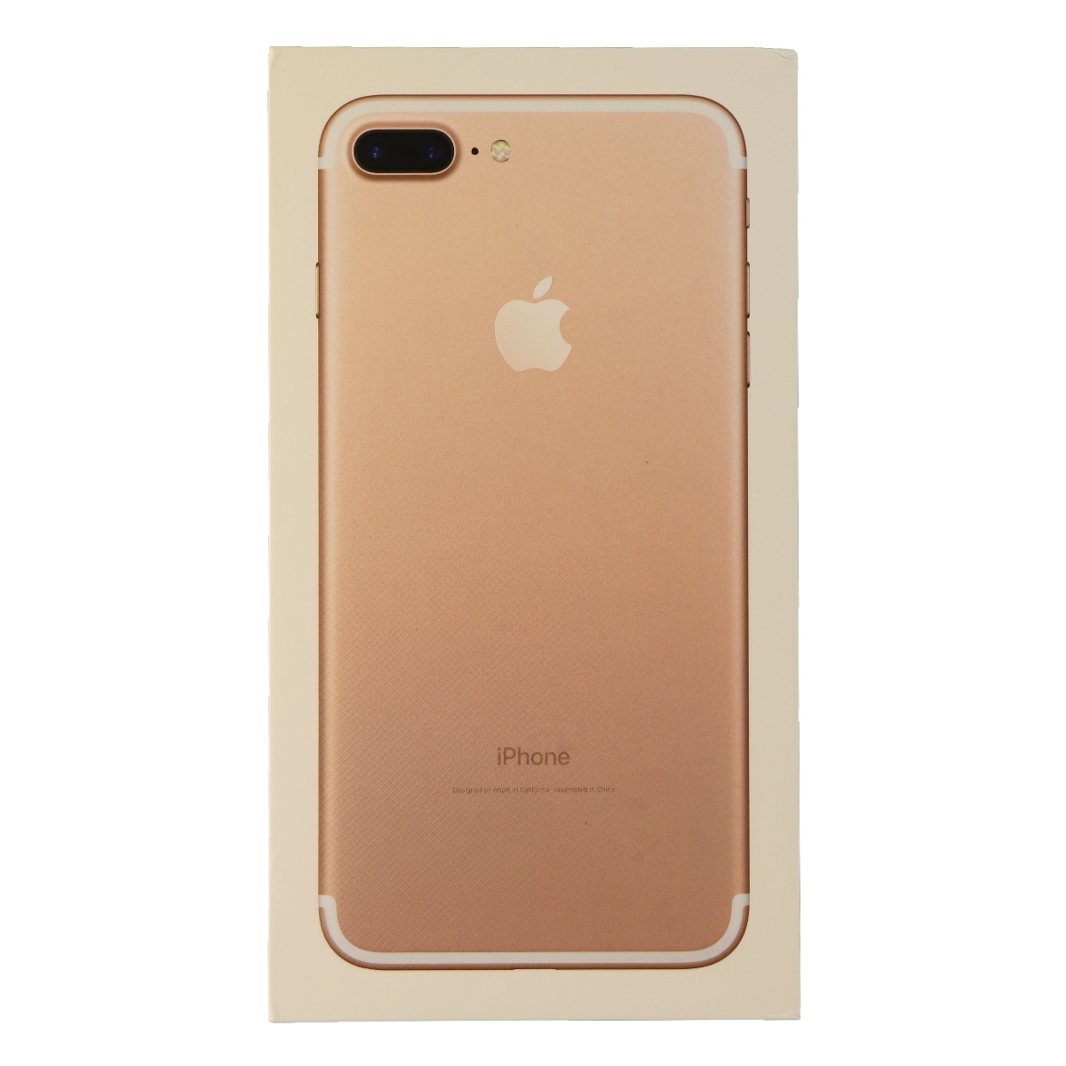 RETAIL BOX - Apple iPhone 7 Plus - 265GB Rose Gold - NO DEVICE