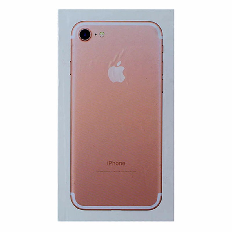RETAIL BOX - Apple iPhone 7 - 32GB Rose Gold - Tray Included - NO DEVICE