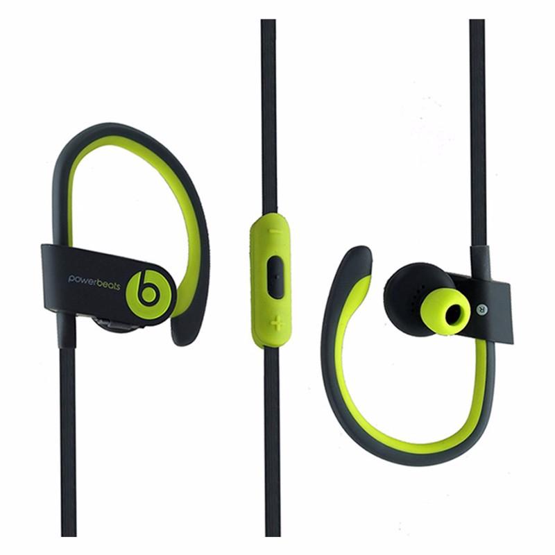 Beats Powerbeats2 Series Wireless Ear-Hook Headphones - Shock Yellow (MKPX2AM/A)