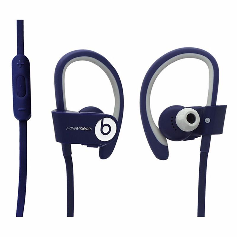 Beats by Dr. Dre Powerbeats2 Wireless In-Ear Headphones (MHBV2AM/A)- Blue/ White