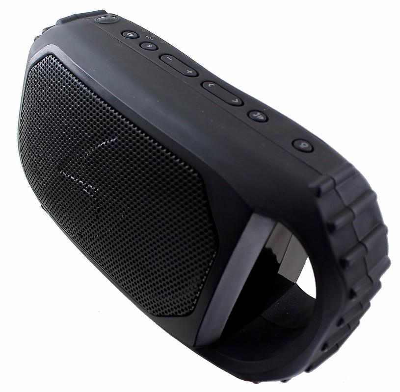 ECOXGEAR EcoStone Portable Outdoor/Waterproof Bluetooth Speaker - Black
