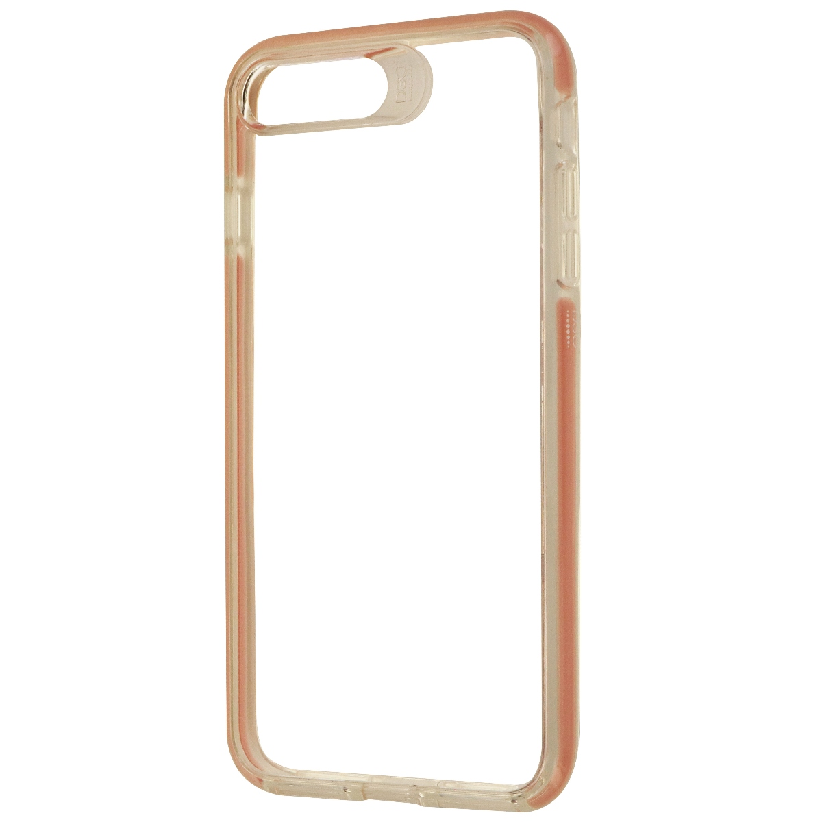 Gear4 D30 Piccadilly Hybrid Case for iPhone 8 Plus/7 Plus - Clear/Pink Rose Gold