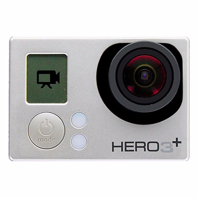 GoPro HERO3+ (Plus) Silver Edition with 8GB MicroSD Card
