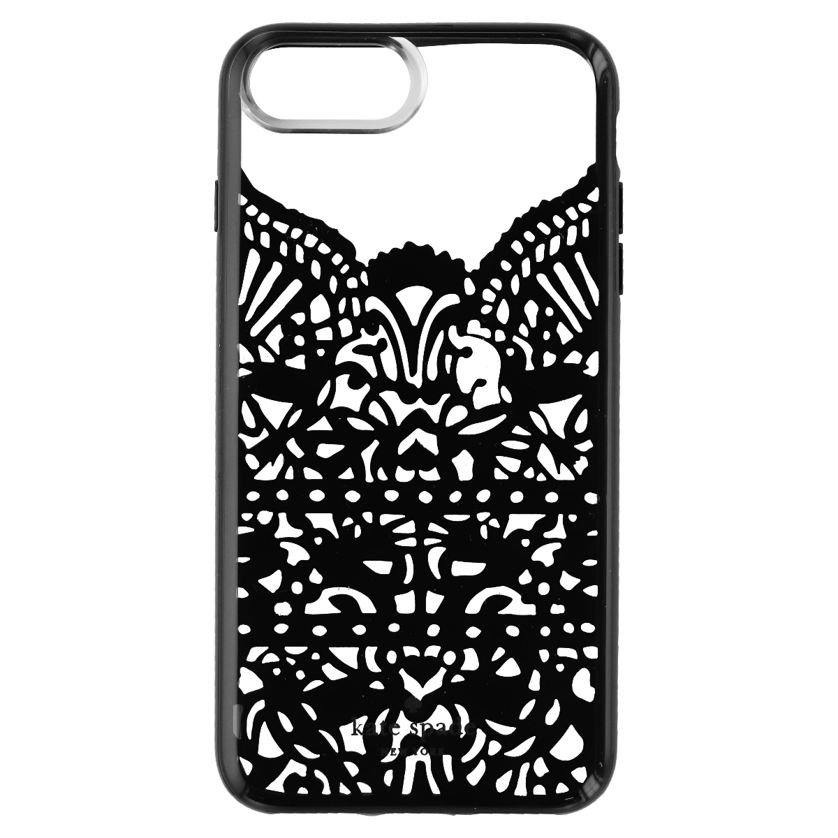 Kate Spade New York Lace Cage Protective Case Cover for iPhone 8 Plus - Black