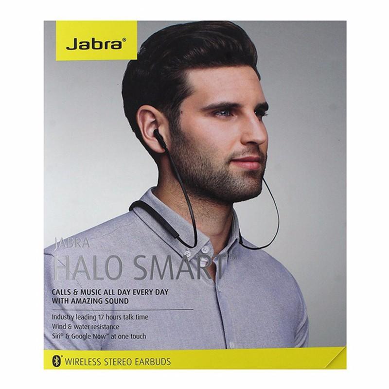 Jabra Halo Smart Wireless Stereo Earbuds Black