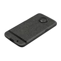 Incipio Esquire Series Hard Fabric Case for Motorola Moto Z3 - Dark Gray / Black
