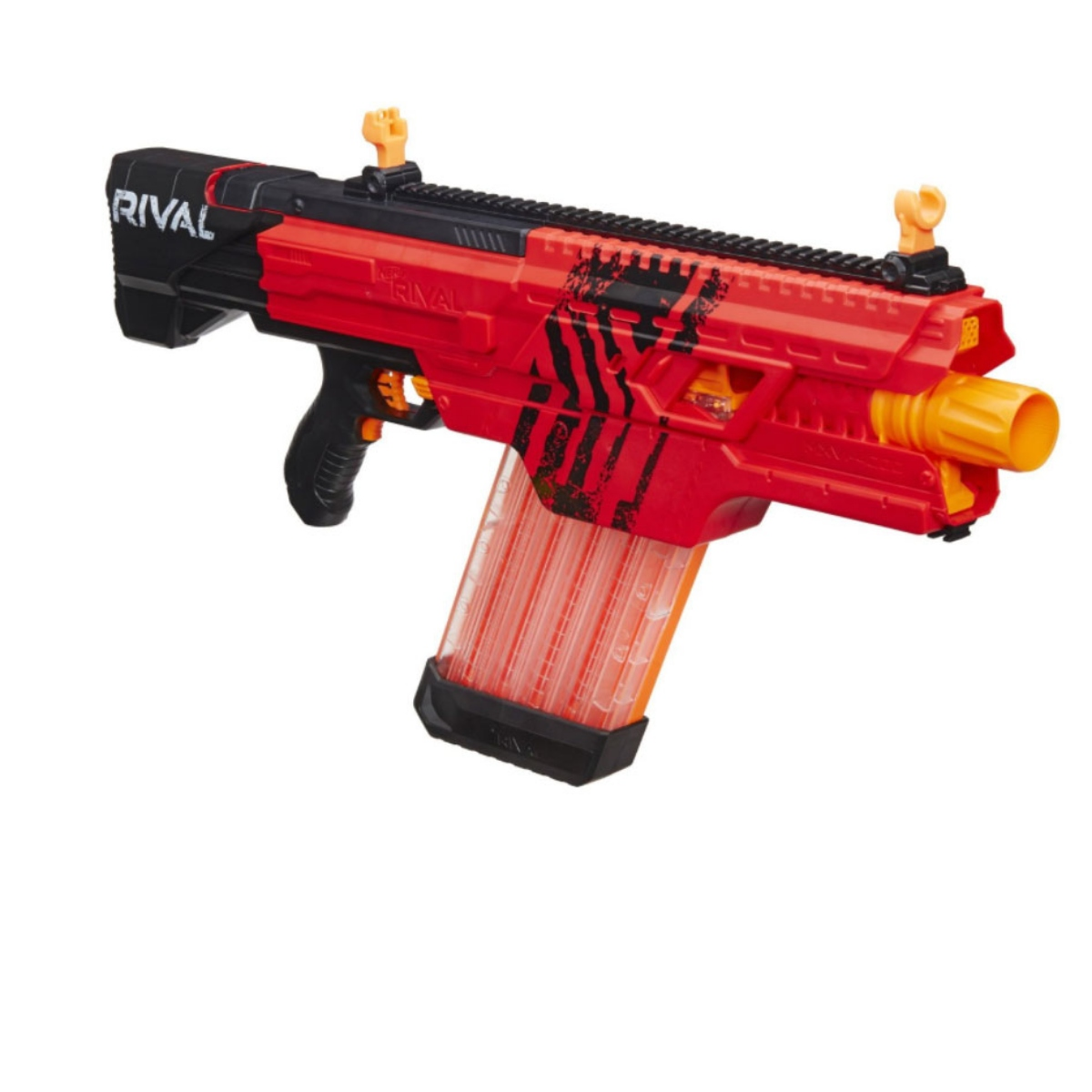 Nerf Rival Khaos MXVI-4000 Motorized Rapid Blaster Gun with 40 Rounds - Red