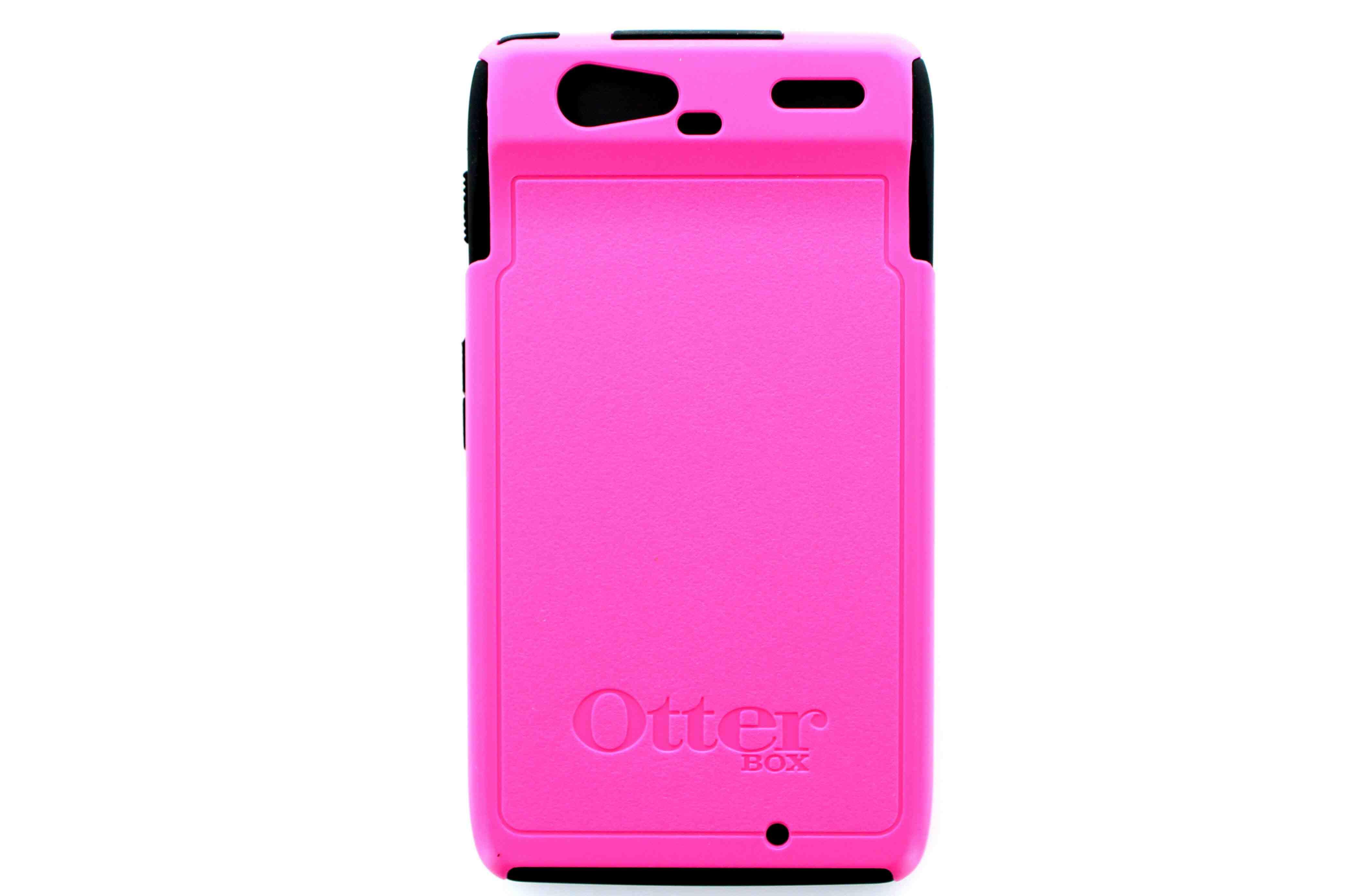 OtterBox Commuter Series Case for Motorola Droid Razr - Pink/Black