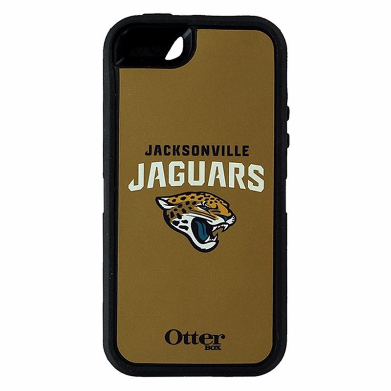 Otterbox NFL Defender Case for Apple iPhone 5/5S/SE - Jacksonville Jaguars