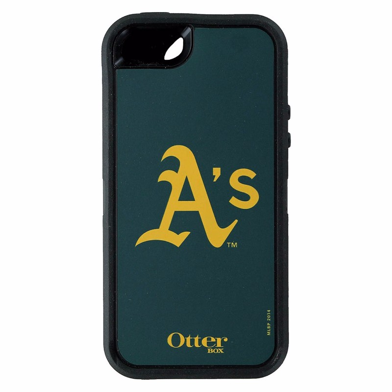OtterBox Defender Series Case for iPhone 5/5s/SE - MLB Oakland A's