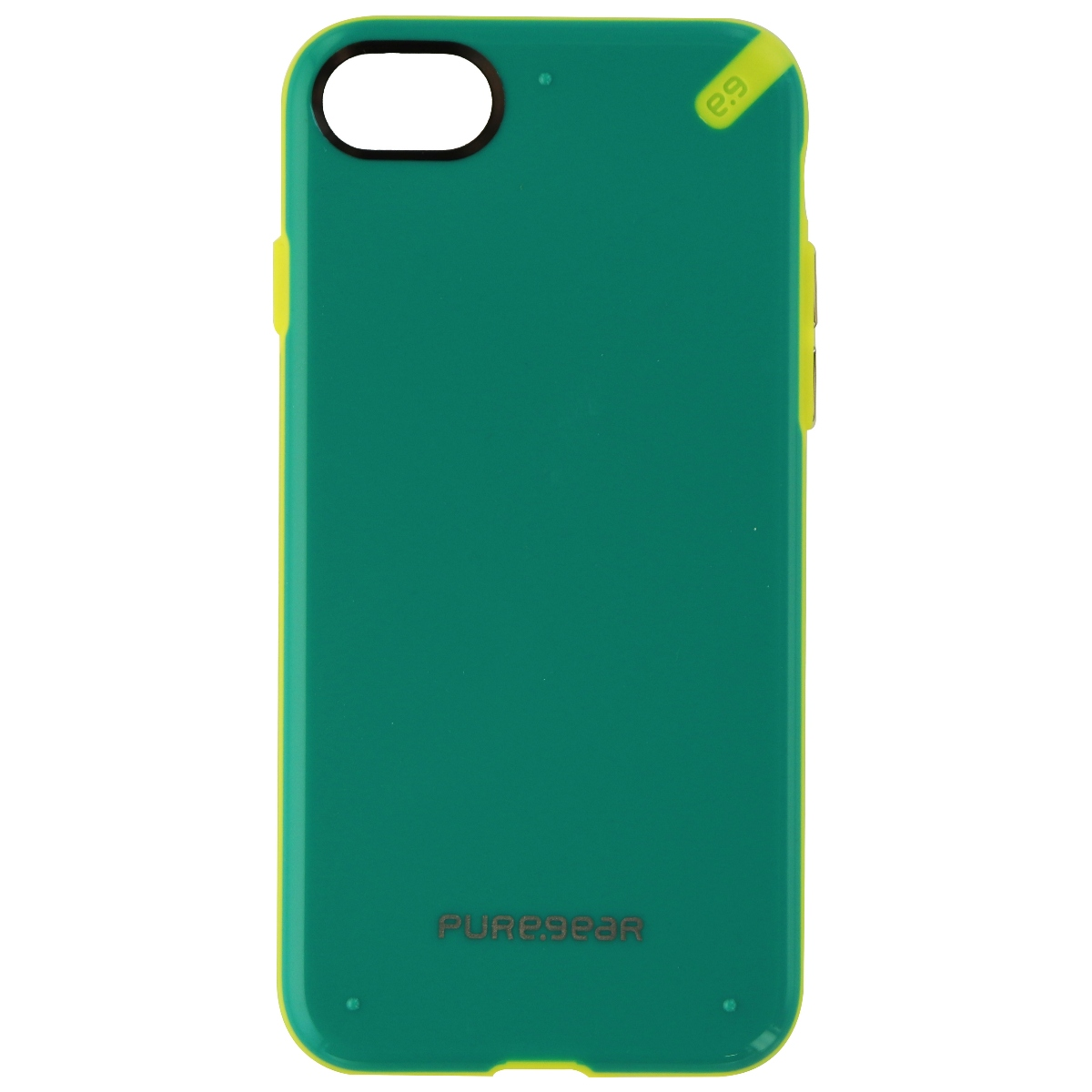 PureGear Slim Shell Series Protective Case Cover for iPhone 8 7 - Green
