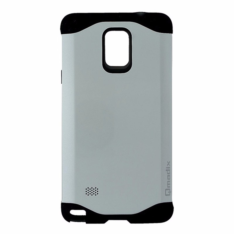 Qmadix X-Series Xtreme Cover Case for Samsung Galaxy Note4 - White and Black