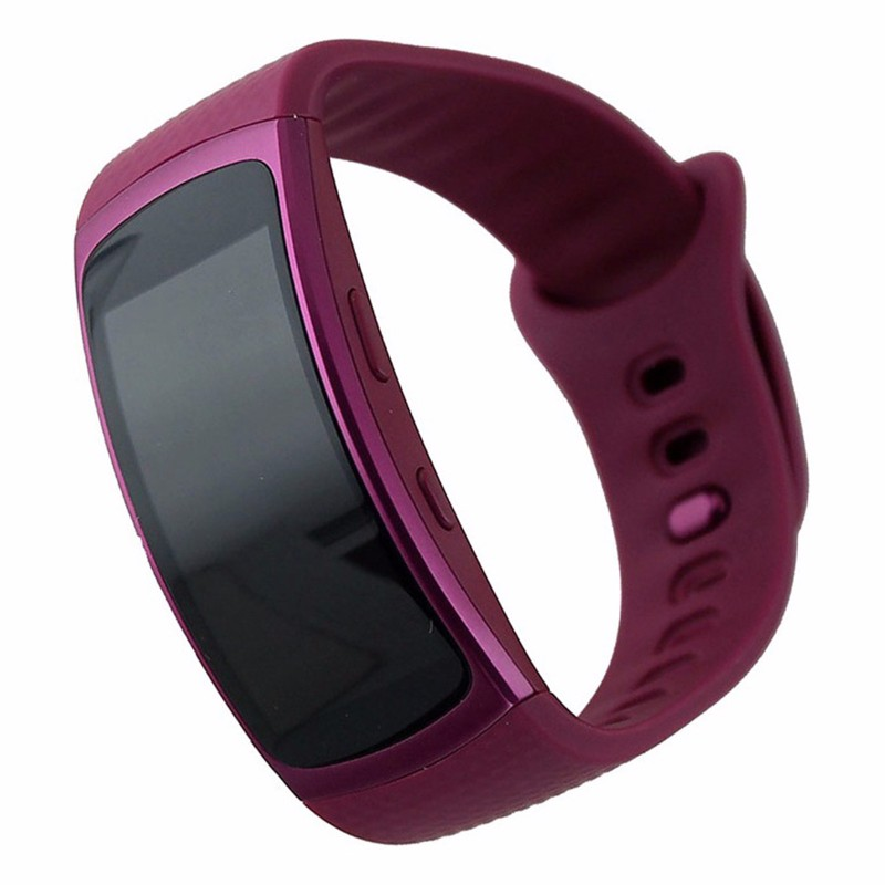Samsung Gear Fit2 SM-R360 GPS Fitness Tracker - Pink Large Sports Band