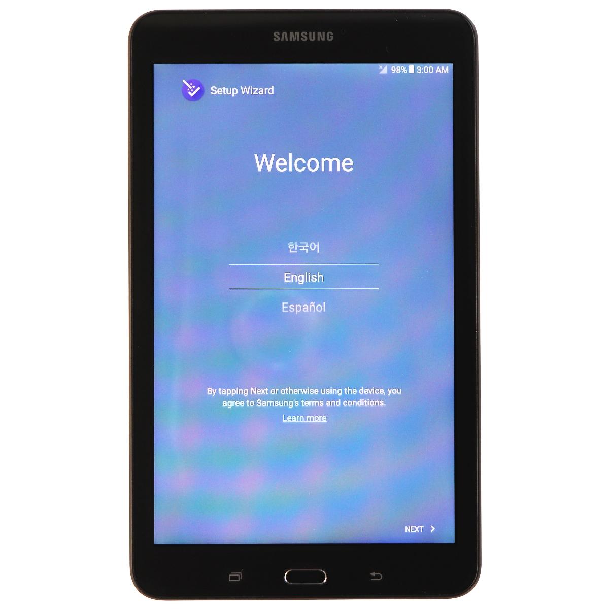 Samsung Galaxy Tab E SM-T377V 8 inch (WiFi & Verizon) Tablet - 16GB - Black