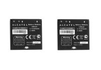 KIT 2x Alcatel CAB31C0000C1 670 mAh Replacement Battery for Alcatel OT-606 606A
