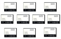 KIT 10x Alcatel TLi020F2 2000 mAh Replacement Battery for One Touch Fierce/Chat