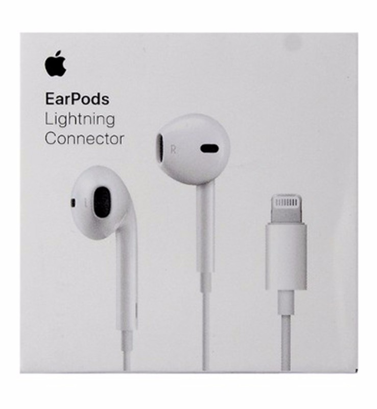 Apple Earpods w/ Lightning Connector for iPhone X 8 7 MMTN2AM/A Retail Packaging