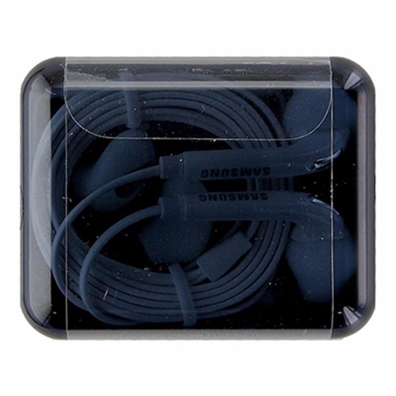 Samsung S7 Edge S6 Note Earbud Headset w/ Mic and Jewel Case EO-EG920LW OEM