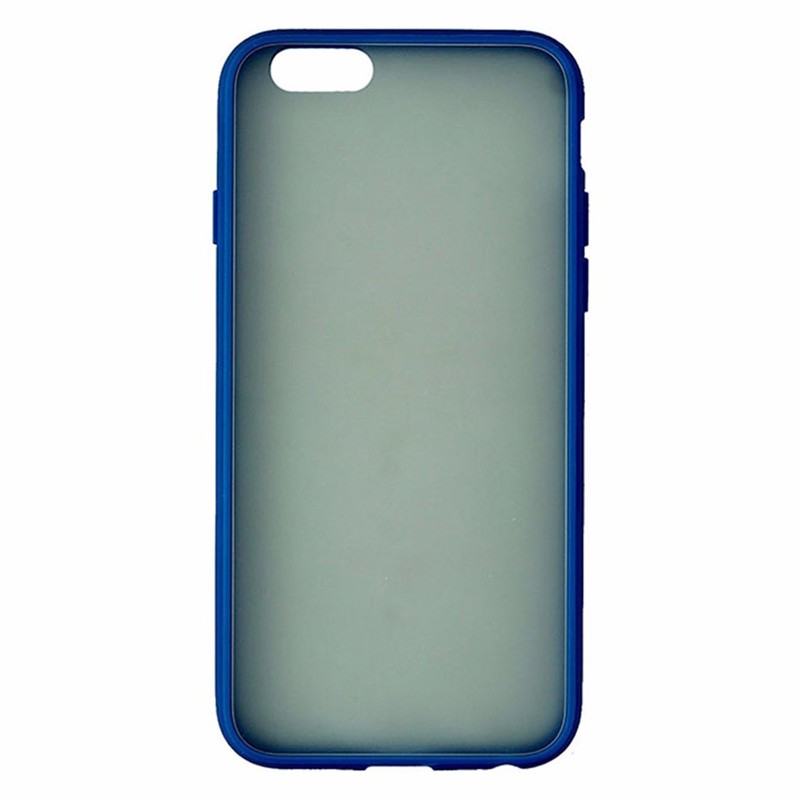 Insignia Soft Shell Case for Apple iPhone 6s/6 - Frost / Blue Border