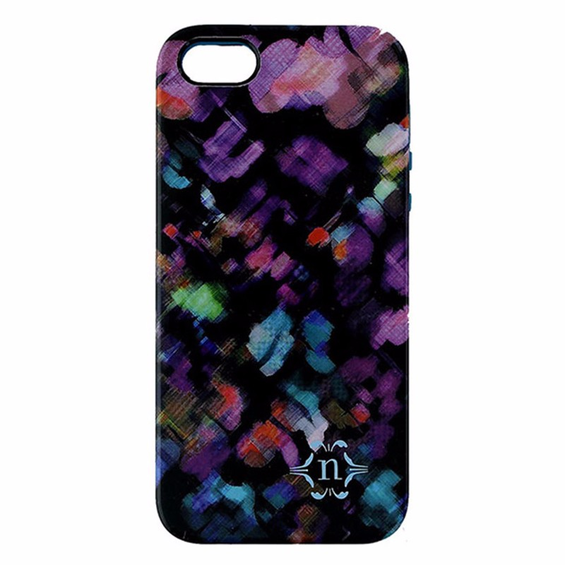 Nanette Lepore Dual Layer Case for iPhone 5/5S/SE - Multi Color - Blurry Brights
