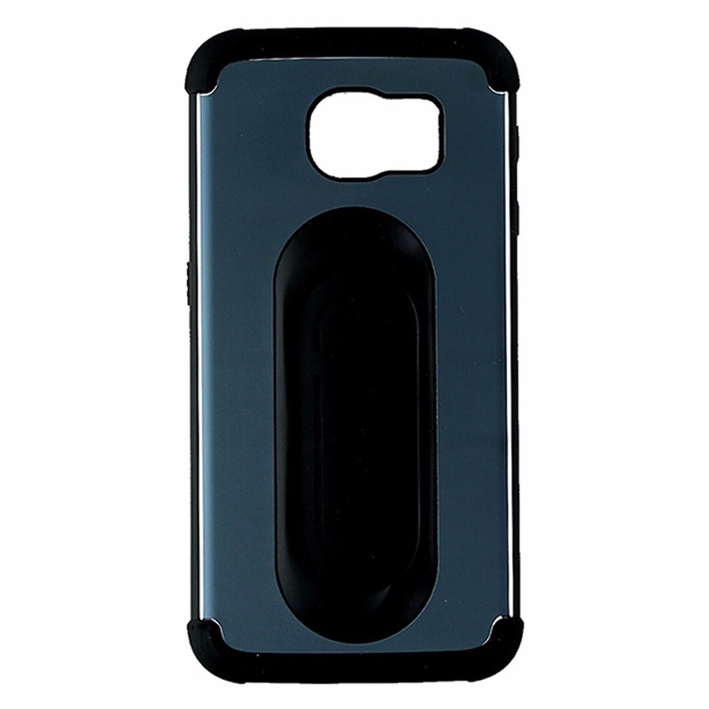 Scooch Clipstic Pro 4 in 1 Case for Samsung Galaxy S6 - Blue / Aluminum