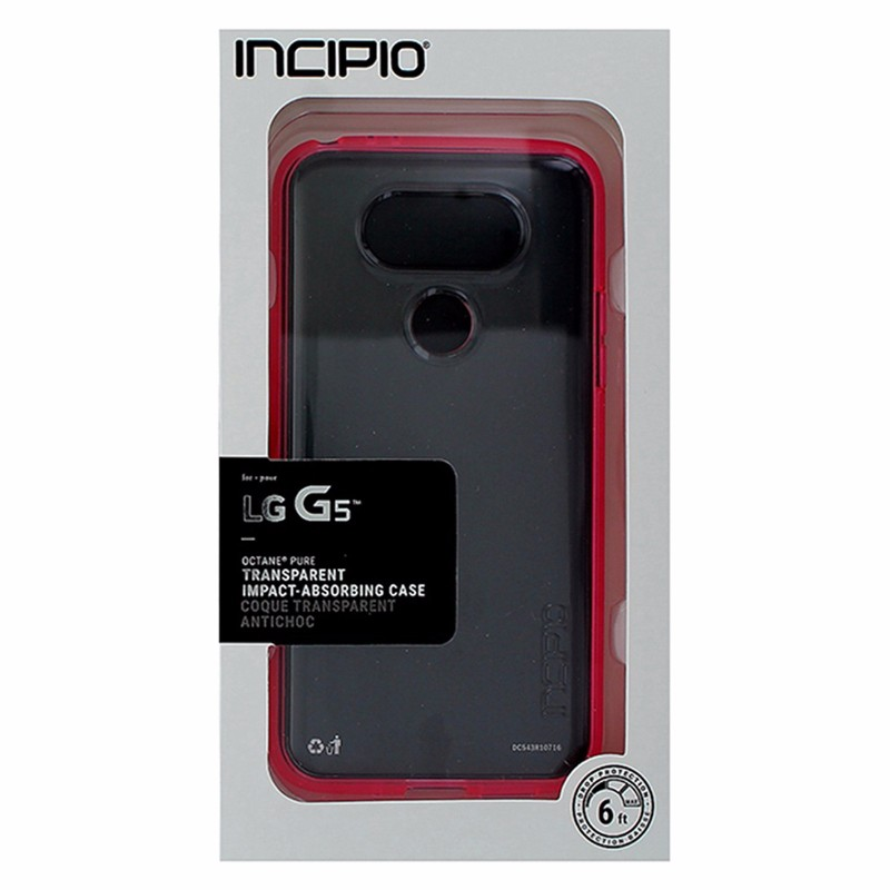 Incipio Octane Pure Case for LG G5 - Clear/Pink