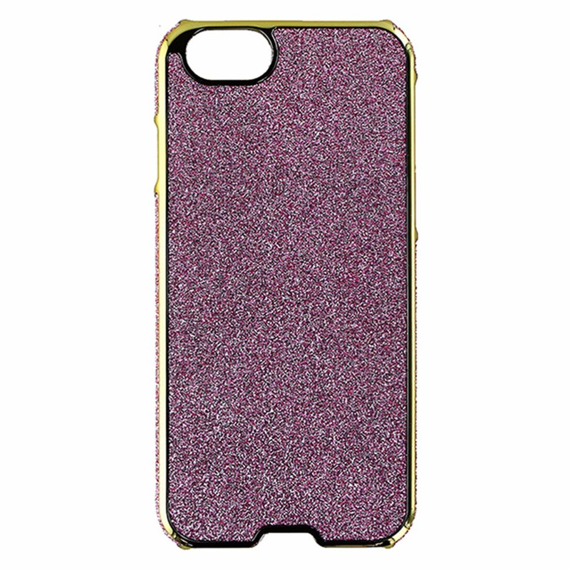 Agent18 Inlay Glitter Case for Apple iPhone 6/6s - Gold / Pink Glitter