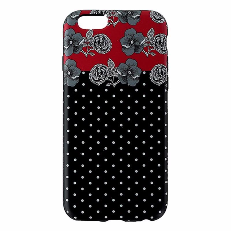 Agent18 FlexShield Case for Apple iPhone 6/6s - Black / Red / Rose