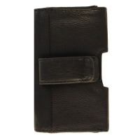 Insignia Universal Leather Hip Case for iPhone and Android Devices - Black