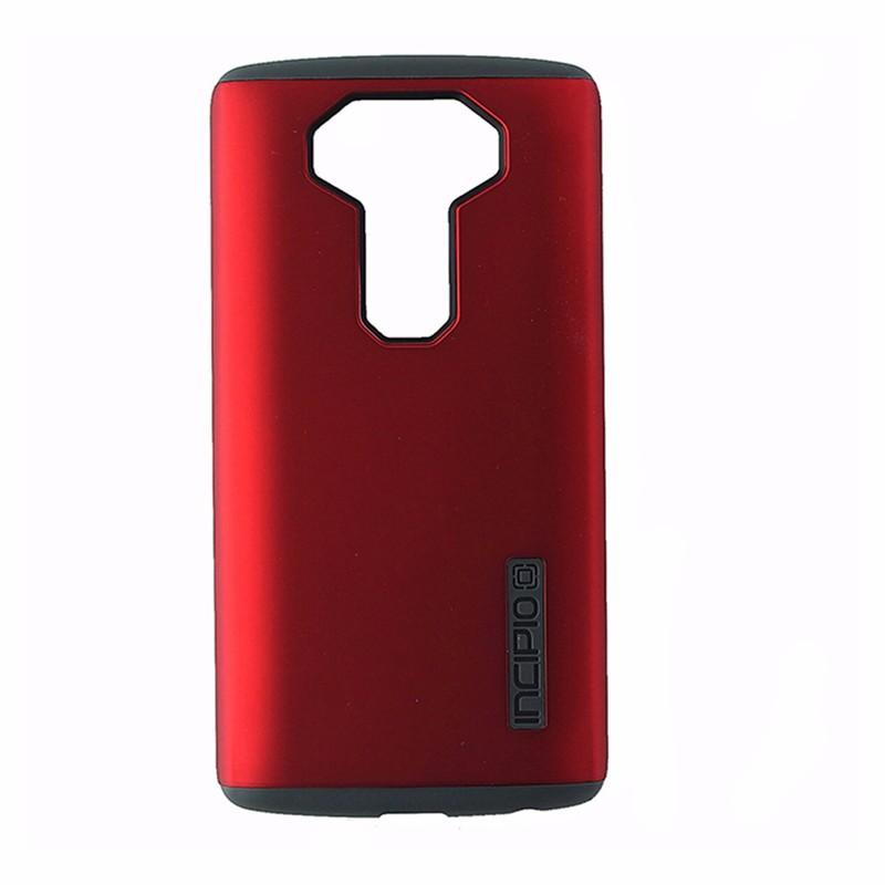 Incipio DuaPro DualLayer Protective Case Cover for LG V10 - Dark Red / Dark Gray