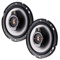 Kenwood KFC-650 6-1/2 Inch 3-Way Car Speakers with Polypropylene Cones - (Pair)