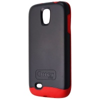 OtterBox Symmetry Series Case for Samsung Galaxy S4 - Cardinal Red / Gray