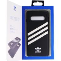 Adidas Originals Case for Samsung Galaxy S10 - Samba Black with White Stripes