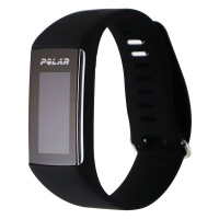 Polar A360 Fitness Tracker Heart Rate Monitor Wristband - Black / Large Band