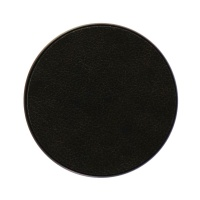 PopSockets Replacement Swappable Grip Top - Black Vegan Leather (Top Only)