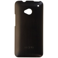 Incipio Feather Shine Series Hardshell Case for HTC One - Metallic Black