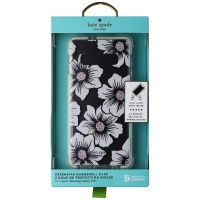 Kate Spade Defensive Hardshell Case for Galaxy S10+ Plus - Hollyhock Cream/Clear