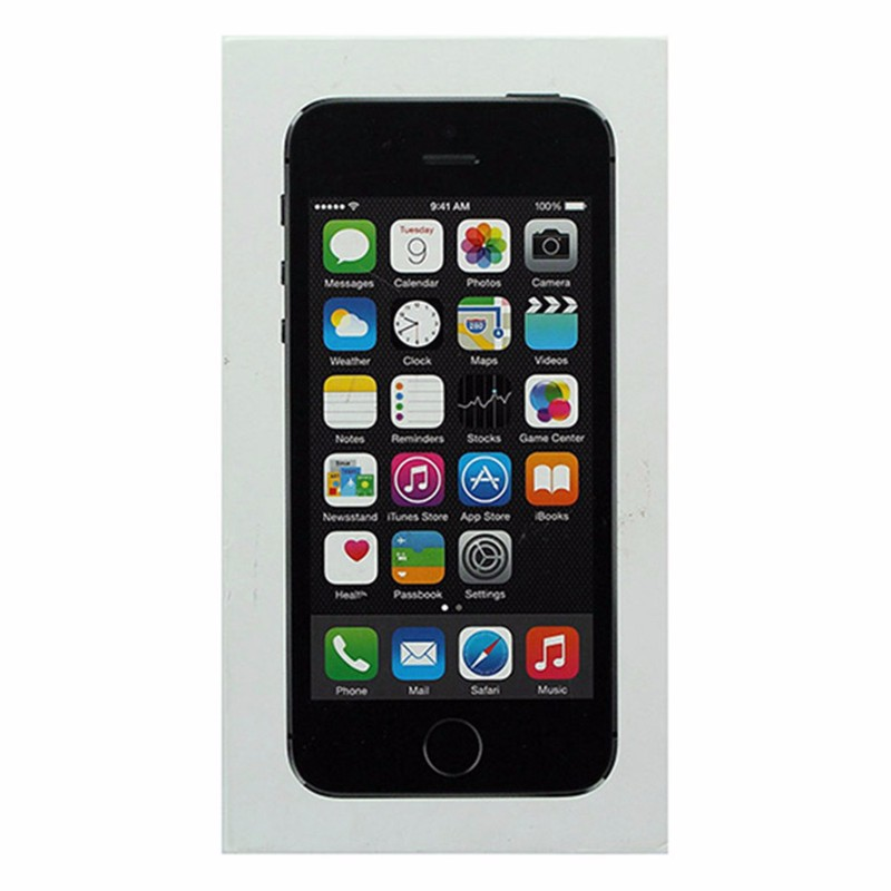 RETAIL BOX - Apple iPhone 5s - 16GB / Space Gray - NO DEVICE