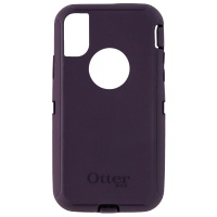 Otterbox Defender Series Exterior Shell for Apple iPhone X (10) - Purple Nebula