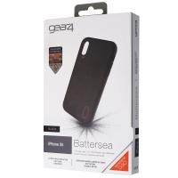 Gear4 Battersea Series Hybrid Case for Apple iPhone XR - Black / Orange