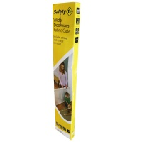 Safety 1st Wide Doorways Fabric Gate with Pressure-Mounted Fastening (Natural)