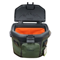 OtterBox Trooper Cooler 20 Quart Travel Cooler - Alpine Ascent (Green/Black)