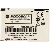 OEM Motorola SNN5777A 740 mAh Replacement Battery for RAZR V3