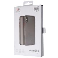 Nimbus9 Phantom 2 Slim Gel Case for Apple iPhone XS Max - Carbon Black