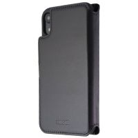 Ercko 2-in-1 Magnet Wallet and Folio Case for Apple iPhone XR - Black