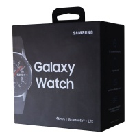 RETAIL BOX - Samsung Galaxy Watch - 46mm / Silver - NO DEVICE