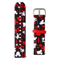 GizmoWatch Soft Band for GizmoWatch - Disney Mickey Mouse / Kid Size - Black/Red